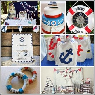 Nautical Themed Parties