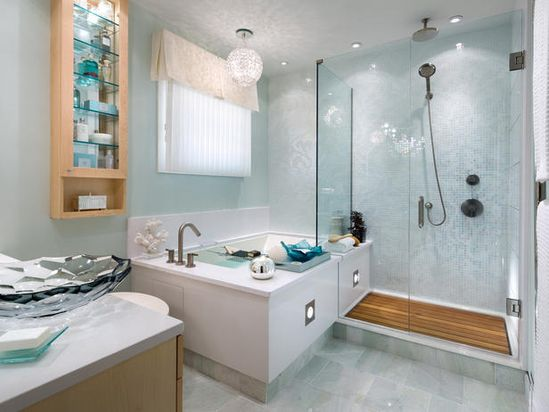 After: Spa-aah! - 8 Bathroom Makeovers From Fave HGTV Designers  on HGTV