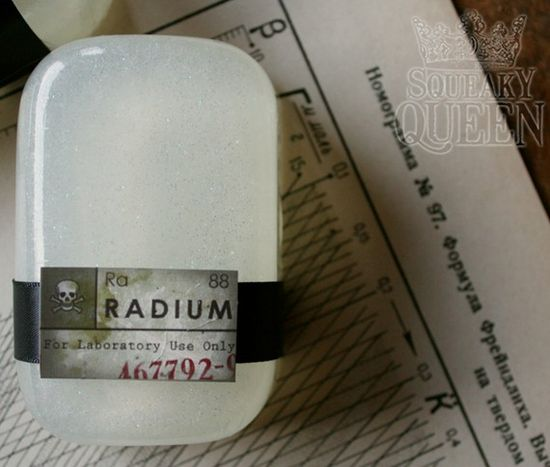 Radium Soap glow in the dark by amandalouise on Etsy, $ 6.00