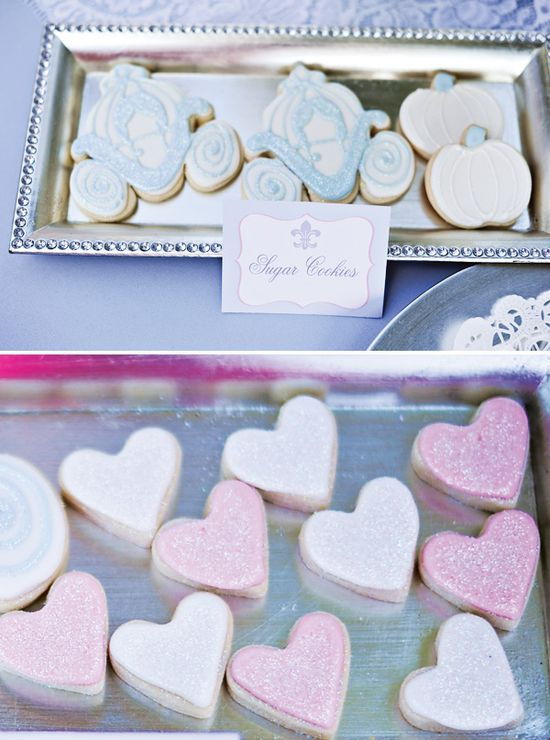 sweet treats for a Cinderella inspired party