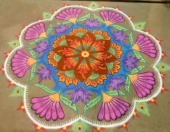 Pictures of Diwali Wallpapers Free Diwali Kolam Designs 16