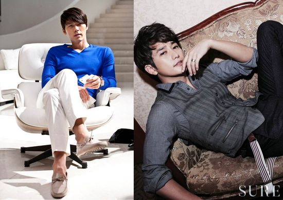 What's your style? Chic Style - Hyun Bin and Park Shi Hoo. Can't choose