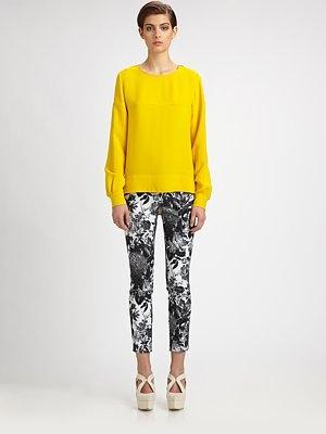 just a splash of yellow with Stella McCartney