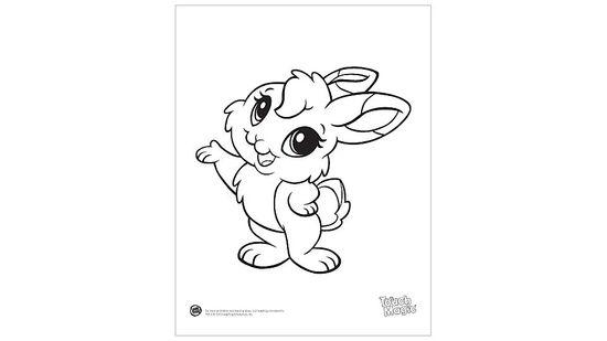 Baby Animal 'Rabbit' Coloring Printable