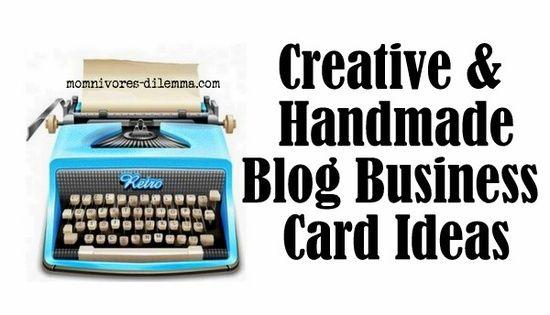 Creative & Handmade Business Cards