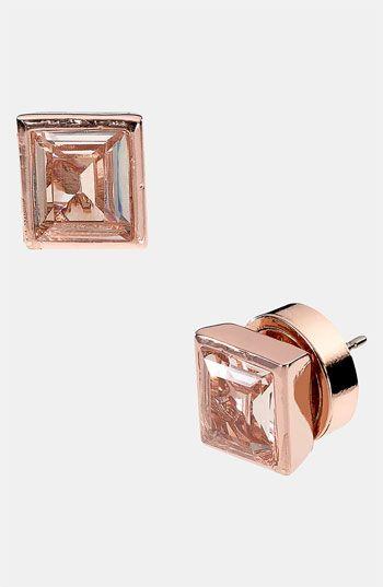 Michael Kors Rose Gold Earings