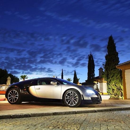 I woke up In a new Bugatti! I wish! #Bugatti....lol
