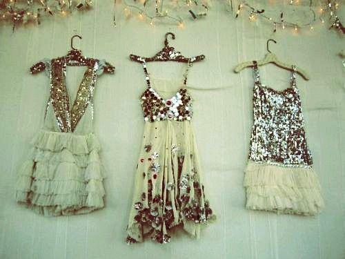 sequins dresses