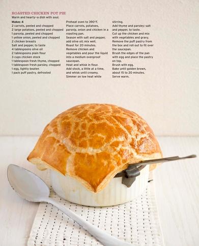 Roasted Chicken Pot Pie.