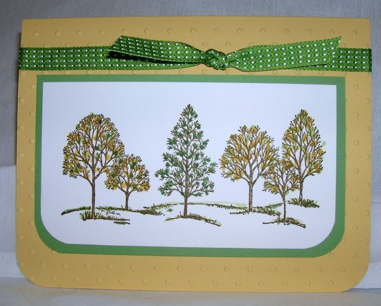 """Stampin' Up! stamp set """"Lovely as a Tree"""""""