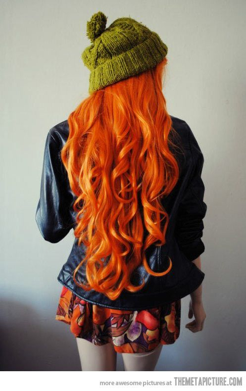 O_O I want... your hair...