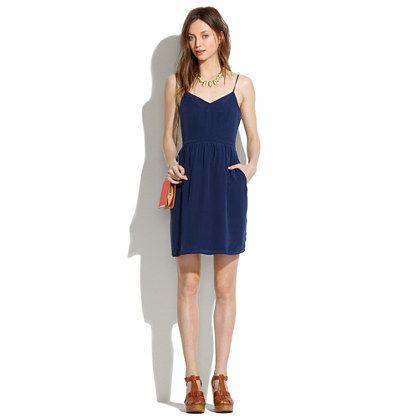 Madewell - Silk Cami Dress
