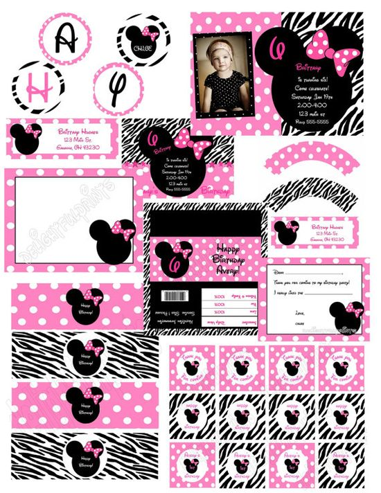 Minnie Mouse Party by delightfulprints