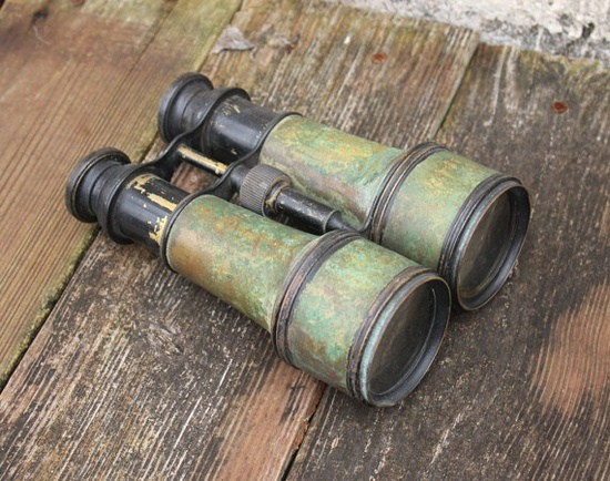 Vintage Binoculars - Genesta OPT. Co. from HeartAndHand123 on etsy