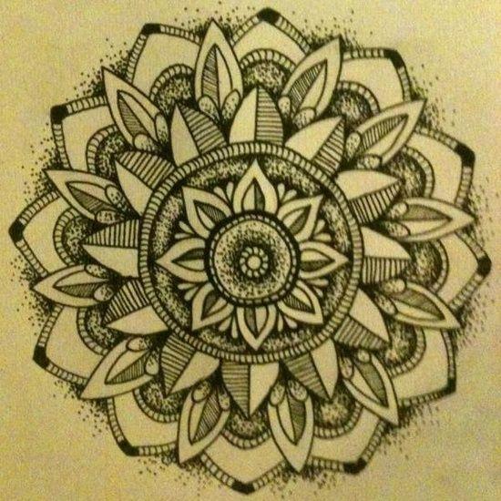 mandala tattoo pattern