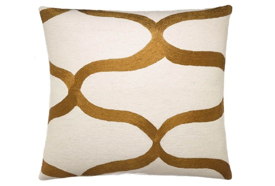 Judy Ross Textiles new collection for fall 2012 – Waves #Cushion. www.providehome.com