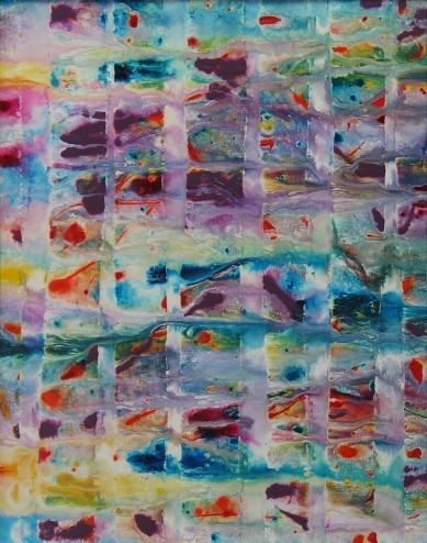 Mosaica original painting abstract art  by:-rgibbsart    ...BTW,Please Check this out:  artcaffeine.imobi...