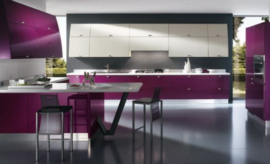 lovely brightnes kitchen design idea