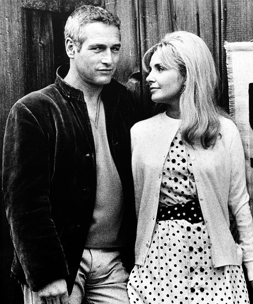 Paul Newman & Joanne Woodward... some Hollywood marriages do last! Beautiful couple!!!