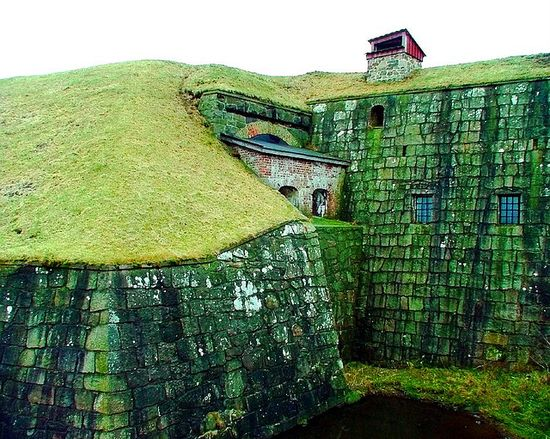 Varberg Fortress, Sweden (not a castle but great photo)