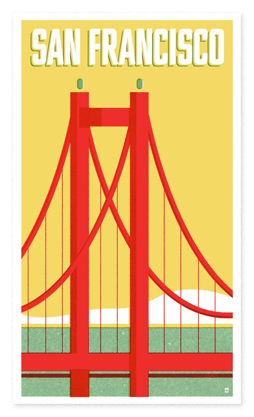 The Heads of State: The San Francisco poster for all those left coasters.