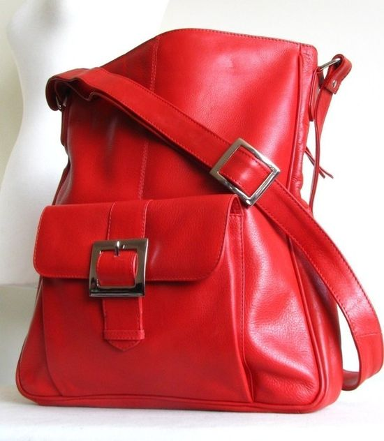 nice red bag