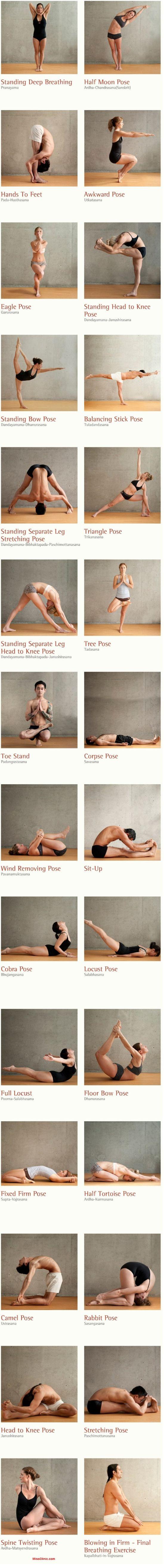 26 Healthy Yoga Postures