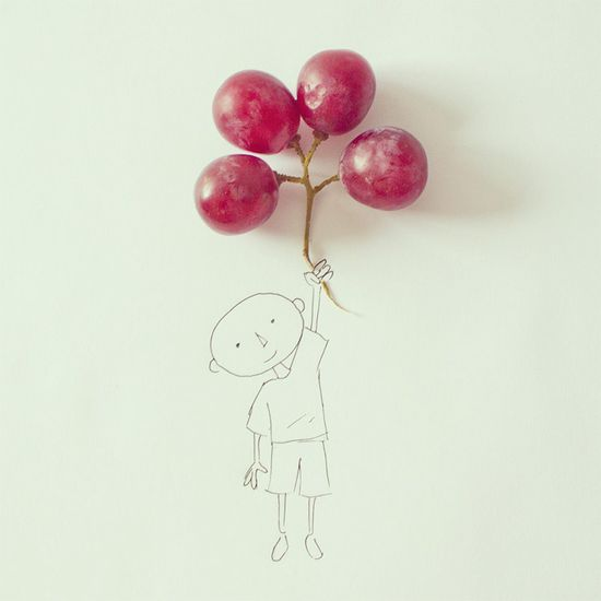 Art Director Javier Pérez Turns Everyday Objects into Whimsical Illustrations www.thisiscolossa...