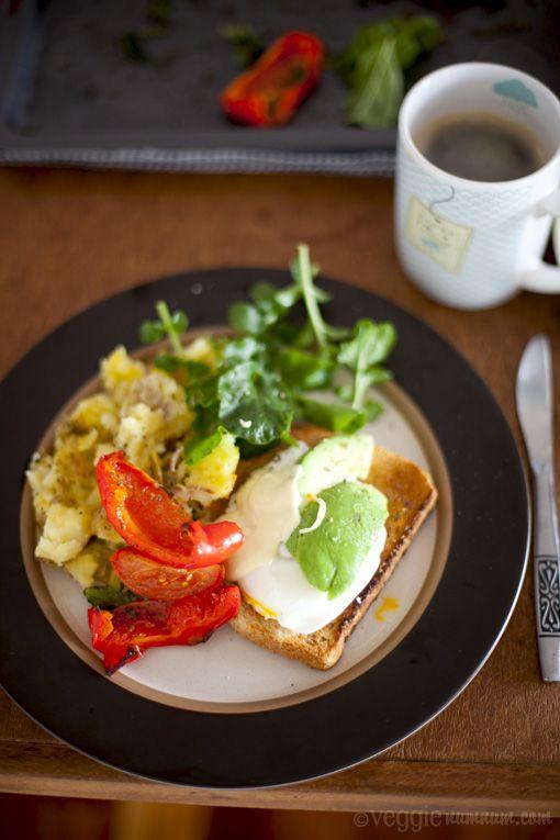a veggie big breakfast #vegetarian #food #breakfast