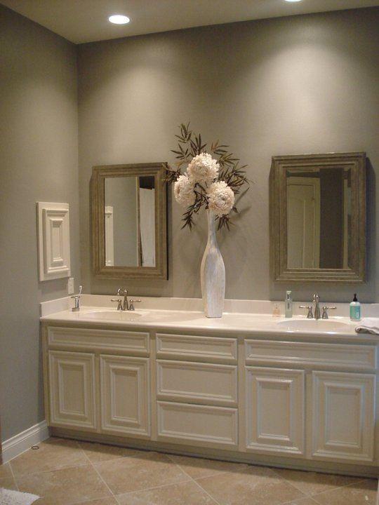 Beautiful bathroom decor www.fabulouslyorg...