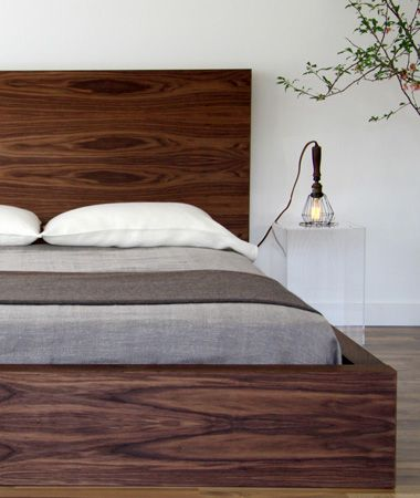 Cool bed from Stylegarage in Toronto. I like it, but I'd like it more in a natural finish or maybe not finished at all.