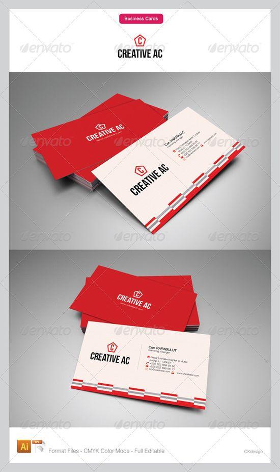 corporate business card design - #graphic #design