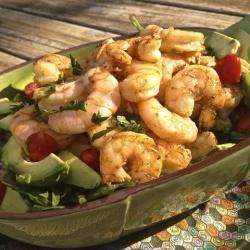 Grilled Shrimp and Avocado Salad recipe
