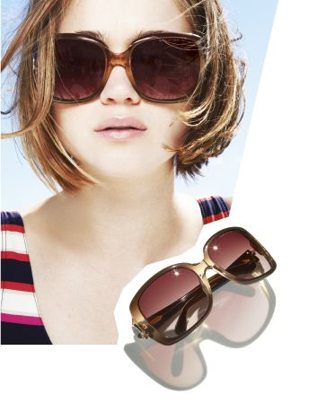 Obsessed with oversized shades!   Marc by Marc Jacobs Oversized Sunglasses