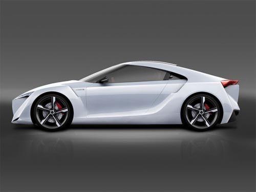 Toyota FT-HS Concept, Luxury Car