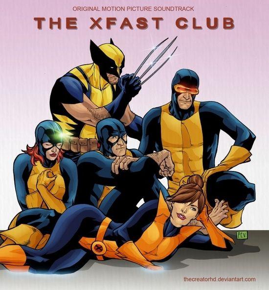 """The Breakfast Club"" Soundtrack + X-Men"