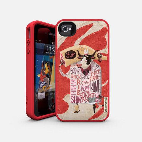 meaty iPhone cover