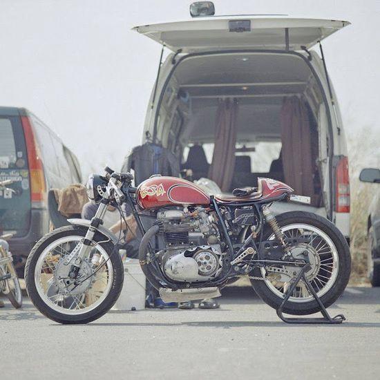 BSA Cafe Racer - found on Cafe Racer Culture