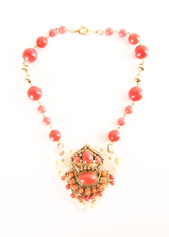 VINTAGE NECKLACE @Michelle Flynn Coleman-HERS