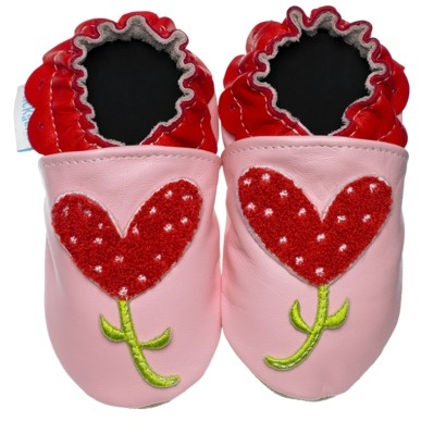 Heart Flower Shoes