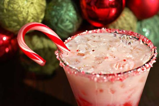 """The """"Candy Cane"""" cocktail"""