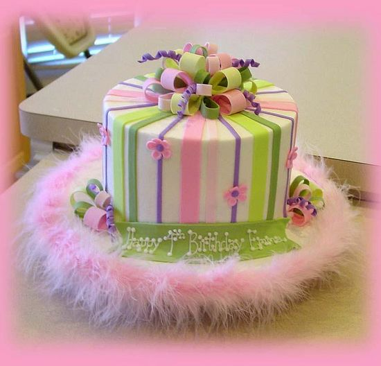Girl Birthday Cake