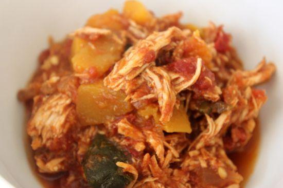 butternut squash chicken chili