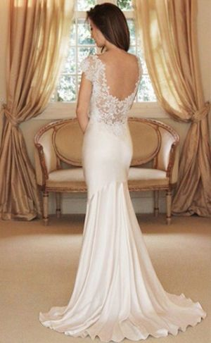 Wedding dress...gorgeous back. by mandy
