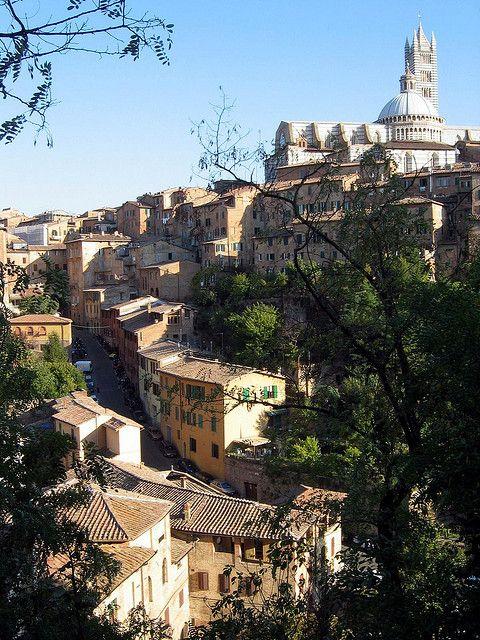 Overlook Siena ,Italy
