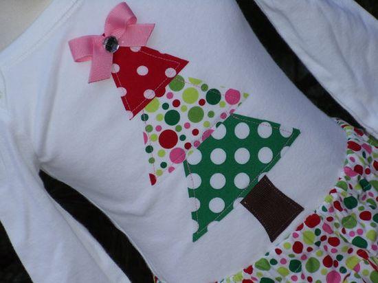 Christmas tree shirt, so cute