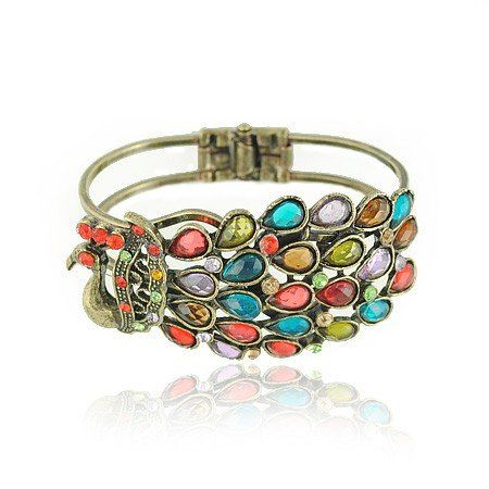 Peacock bracelet from Alibaba.com