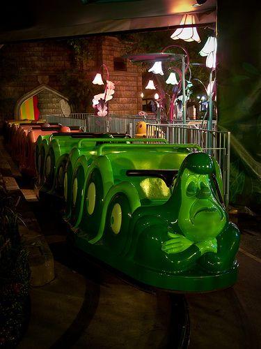 Alice in Wonderland Ride - Disneyland