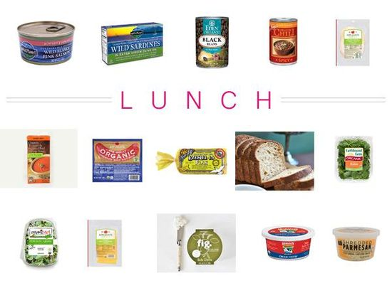 The Prevention 100 Cleanest Packaged Food Awards-Lunch Food!
