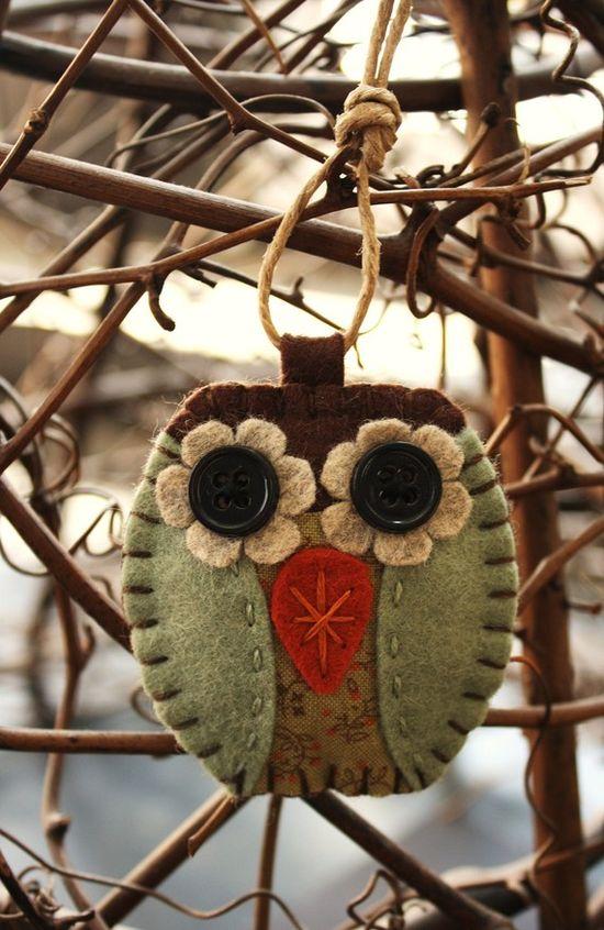 Felt Owl :: I like him